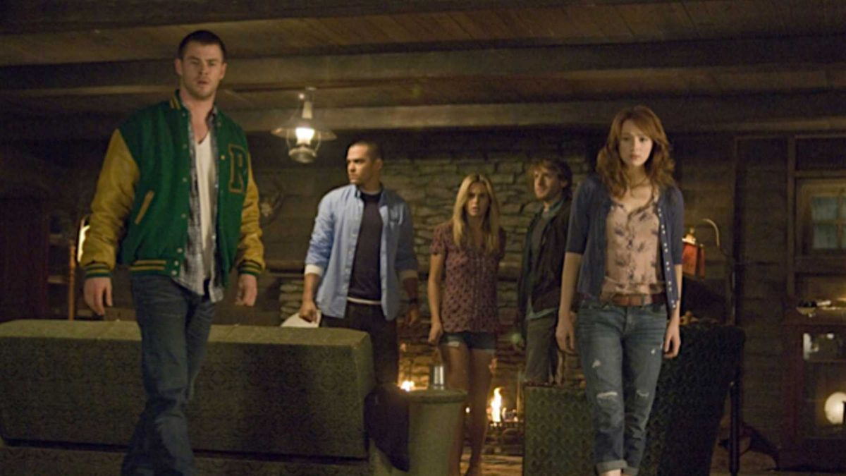 JUMPSCARECUT: The Cabin in the Woods (2012)