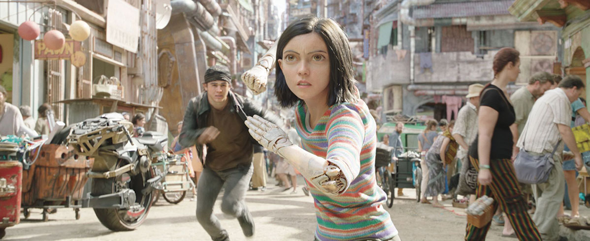 James Cameron Introduces Alita In Exclusive 'Moments Worth Paying For' Trailer
