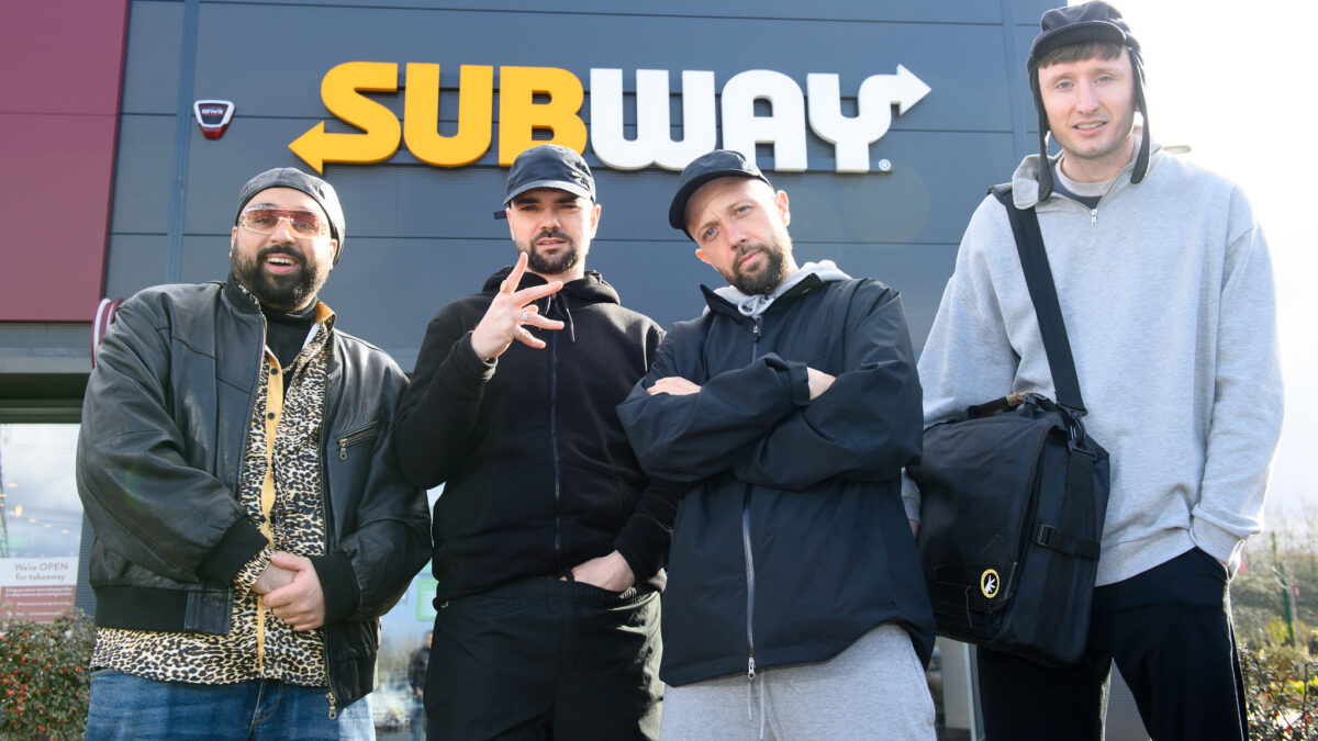 Kurupt FM Take Over Subway's Radios For Exclusive 'People Just Do Nothing' Online Mini-Series