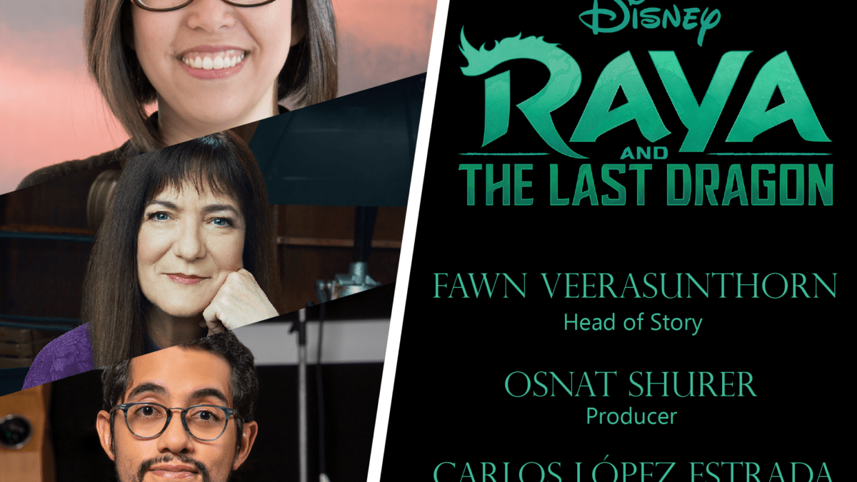 INTERVIEW Part 1: 'Raya and the Last Dragon' – Head of Story, Producer & Director
