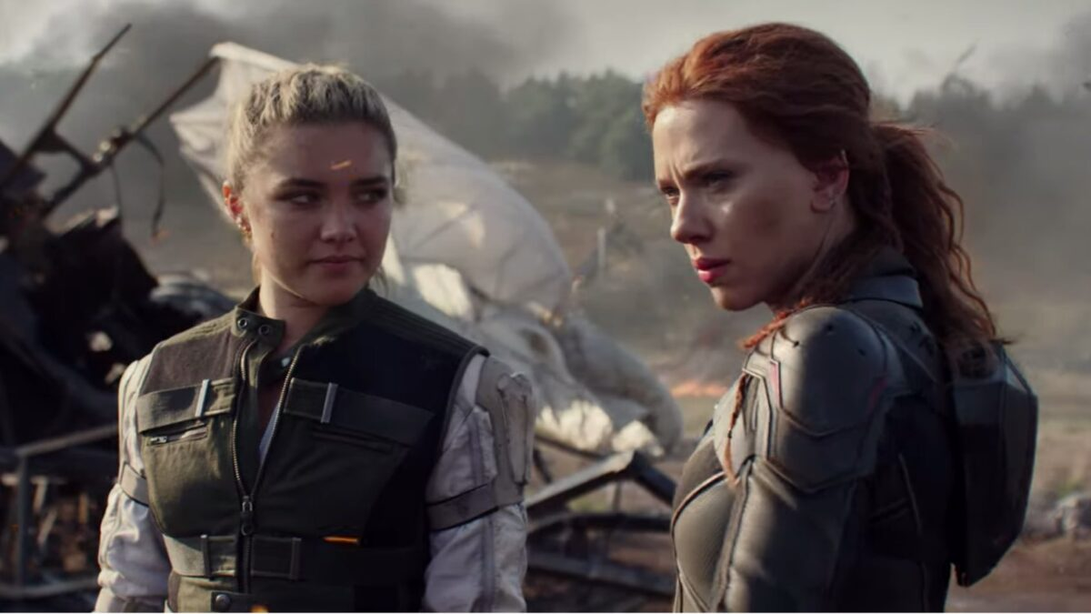 Scarlett Johansson & Florence Pugh Feature In New Official 'Black Widow' Clip