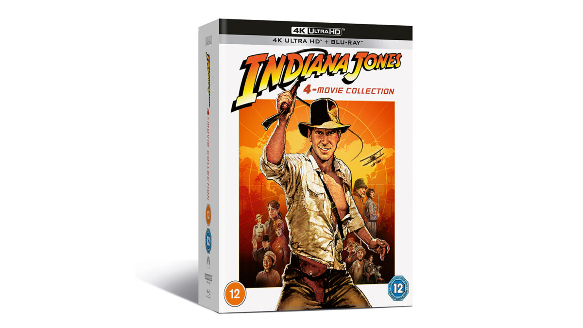COMPETITION: Win Indiana Jones 4-Movie Collection on 4K Ultra HD + Blu-ray!