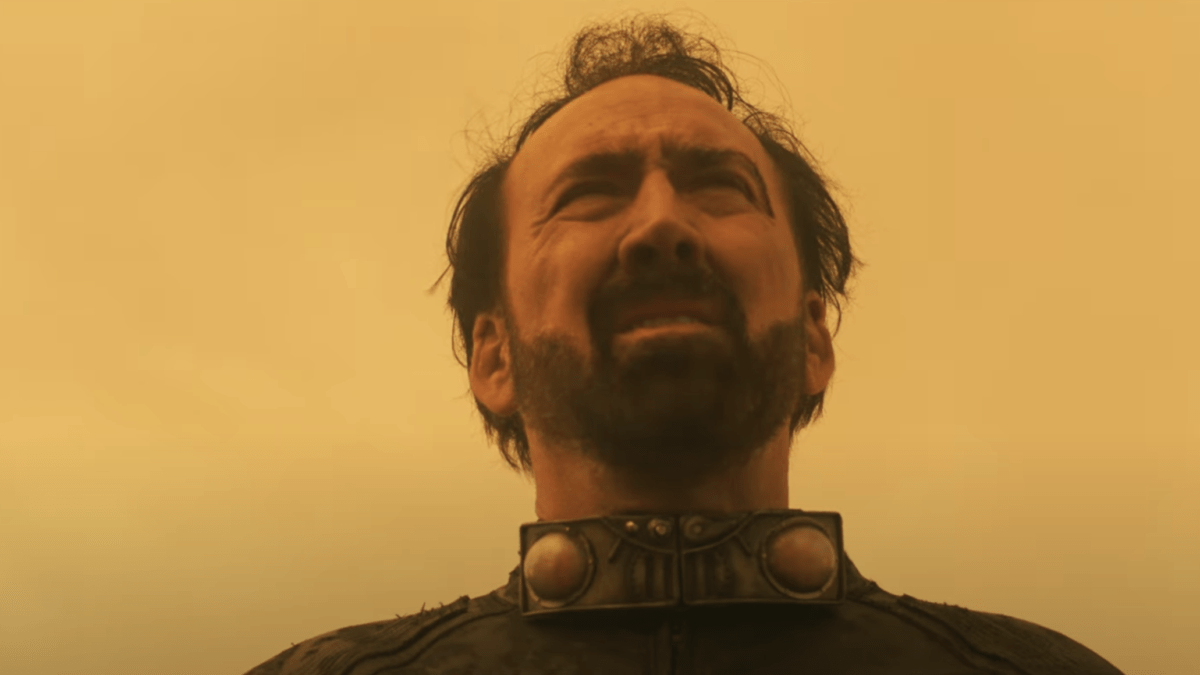 Nicholas Cage and Sofia Boutella Star in Bonkers New Trailer For 'Prisoners Of The Ghostland'
