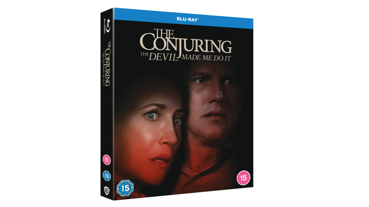 Competition: Win 'The Conjuring: The Devil Made Me Do It' On Blu-ray