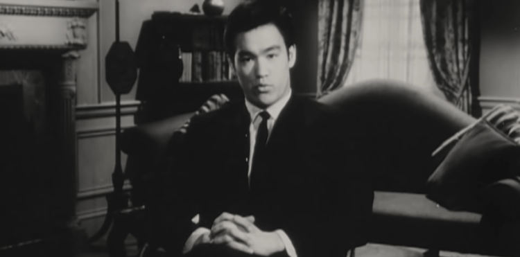 Bruce Lee as a young man