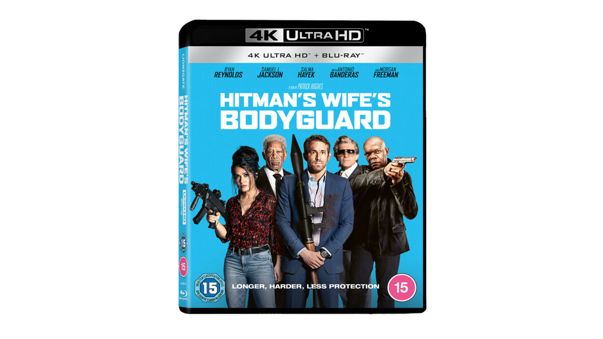 Competition: Win 'The Hitman's Wife's Bodyguard' on 4K UHD