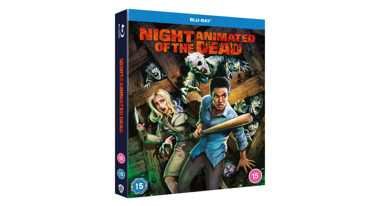 Competition: Win 'Night of the Animated Dead' on Blu-ray